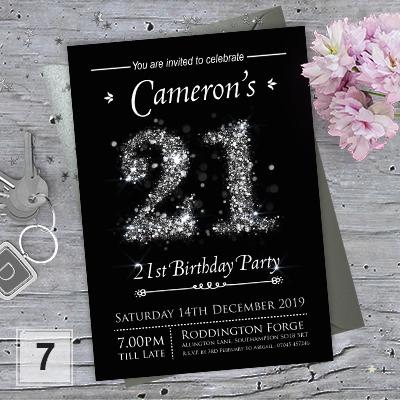 Birthday Invitations · 18th 21st 30th 40th 50th ...